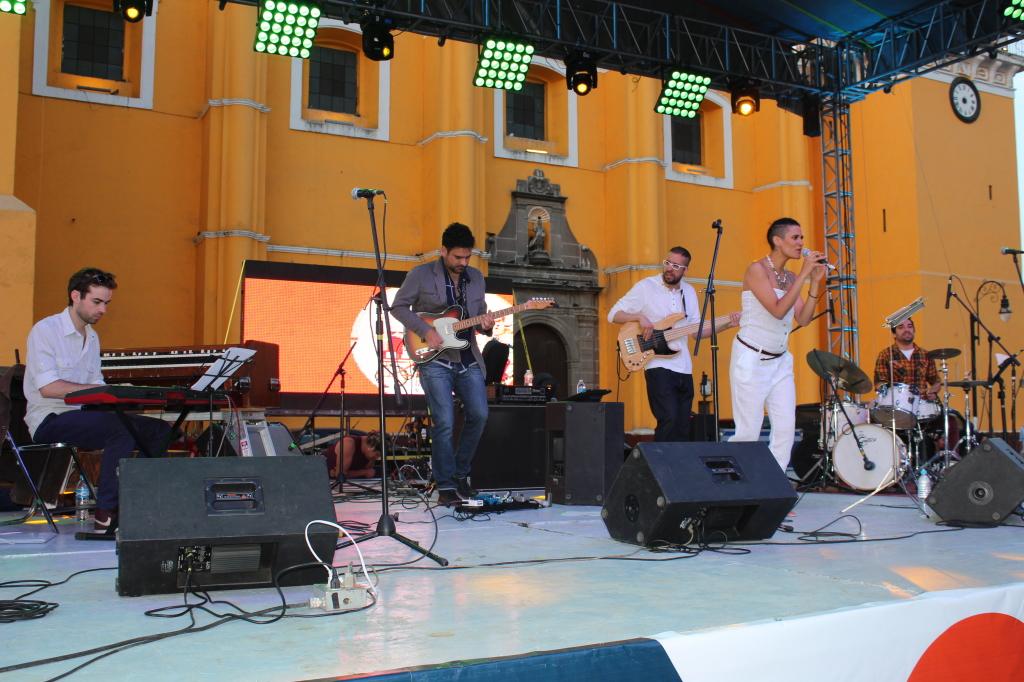 Inauguración del Jazzatlán 2015