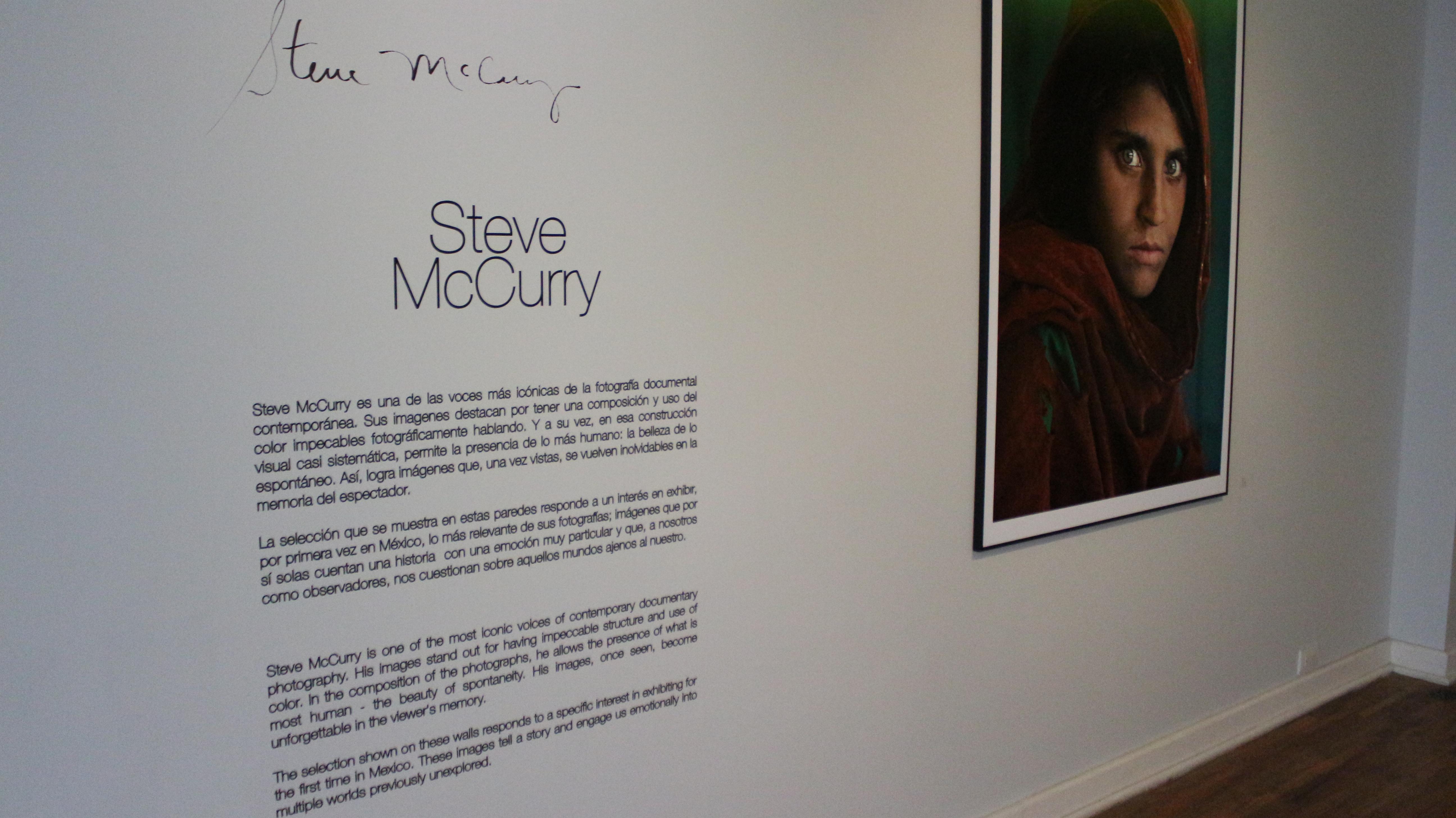 Miradas a través de su ojo: McCurry llega a México
