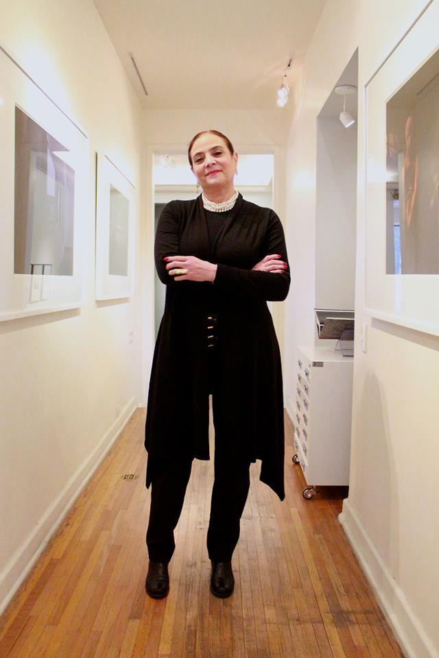 Patricia Conde en su galería de Polanco.