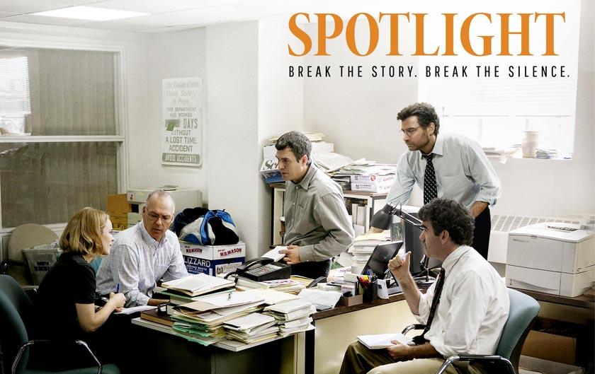 Spotlight… Más que una película, una clase de periodismo