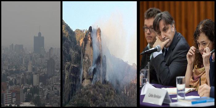 GIEI termina en abril, no habrá extensión: Presidencia; incendio consume el Tepozteco; Morena presenta lista para Asamblea de CDMX; tres puntos separan de nueva Fase de Contingencia