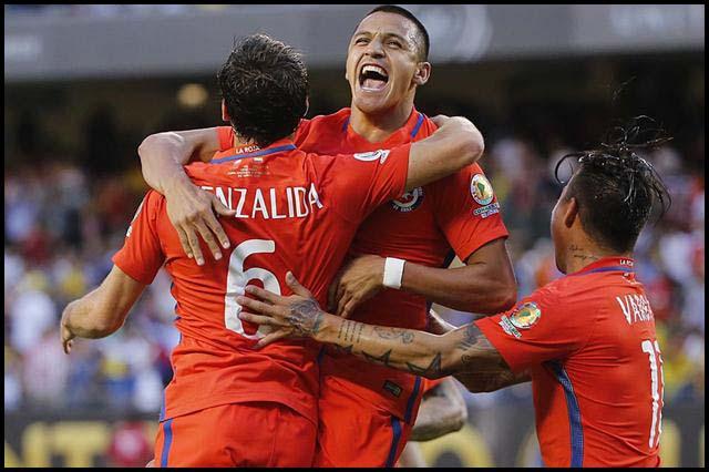 Chile gana
