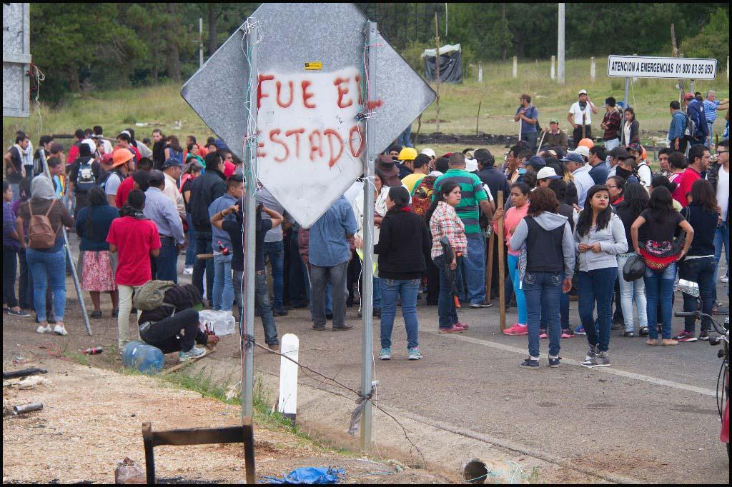 Desalojo en Chiapas