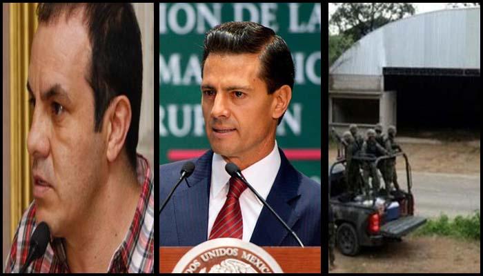 Suspenden a 30 por caso Tlatlaya; EPN 'pide perdón' por Casa Blanca; El 'Cuauh' niega al PSD