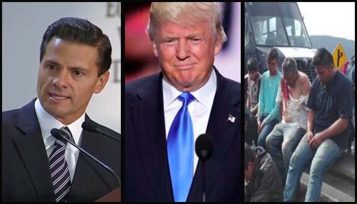 Reconoce EPN inconsistencias en ley de protección a víctimas; sin acuerdo entre CNTE y Segob; Trump, candidato republicano