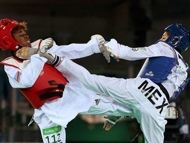 Taekwondoin mexicana 49 kilos.