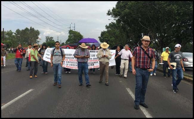 Marchas CNTE