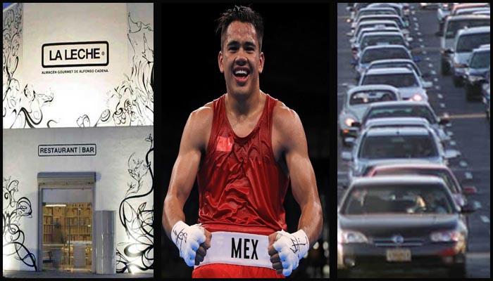 """Asegura medalla para México """"Chino"""" Rodríguez; levantan a doce en Puerto Vallarta; son peores las condiciones laborales para mexicanos"""