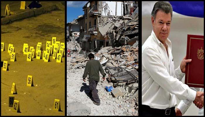 Reiteran acuerdo de paz FARC y gobierno colombiano; continúa paro de CNTE en Oaxaca