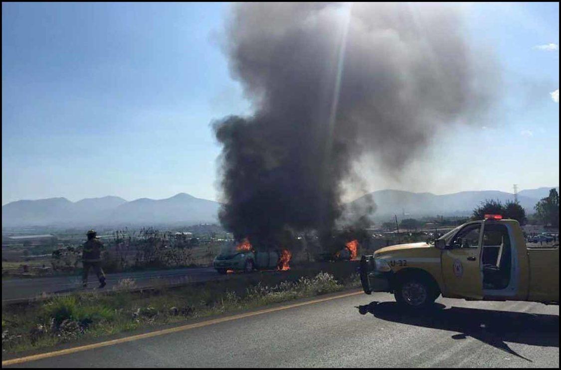 Derriban helicóptero en Michoacán