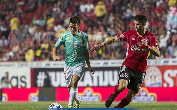 En liga se midieron en la jornada 5, Tijuana venció a La Fiera por 2-0. Foto: Liga MX.