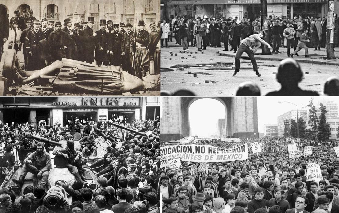 1848 7 1968 representaron años de quiebre para el mundo, ¿qué pensaban aquellos jóvenes? Especial.