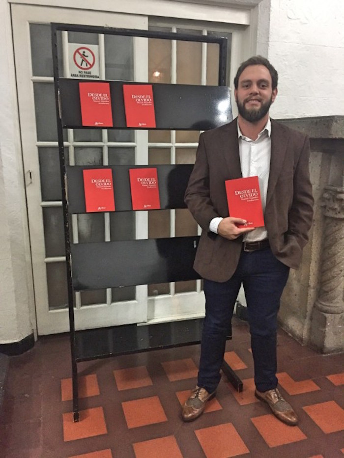 Escritor Manuel Arrubarrena