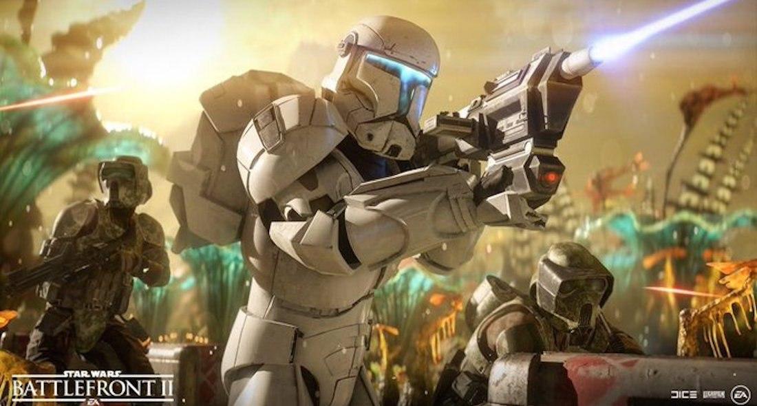 actualización Battlefront II