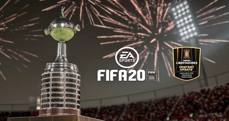 copa Libertadores en FIFA20