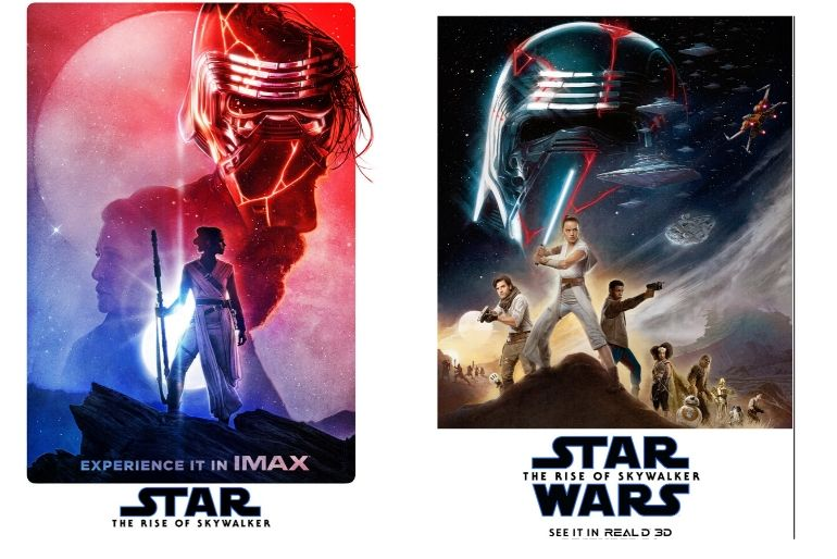 Carteles Star Wars 3D