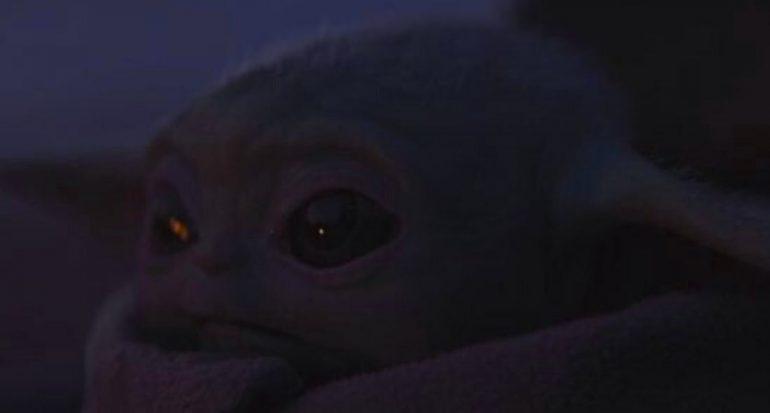 La fuerza en el bebé Yoda