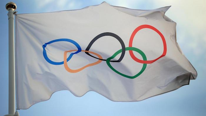 Bandera de los Juegos Olímpicos