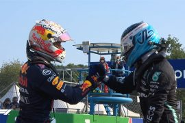 Verstappen pole Monza