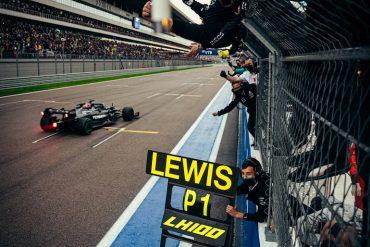 Hamilton Gran Premio de Rusia