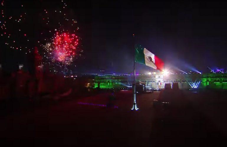 Grito de Independencia Zócalo