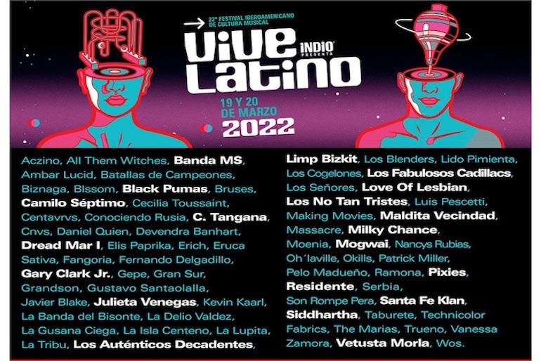cartel Vive Latino 2022