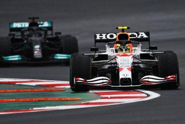 Checo Pérez Gran Premio Turquia